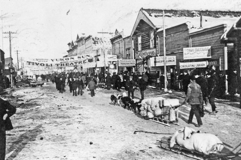 Dawson City gold rush